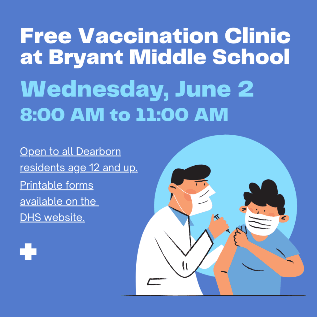 Free Vaccination Clinic at Bryant