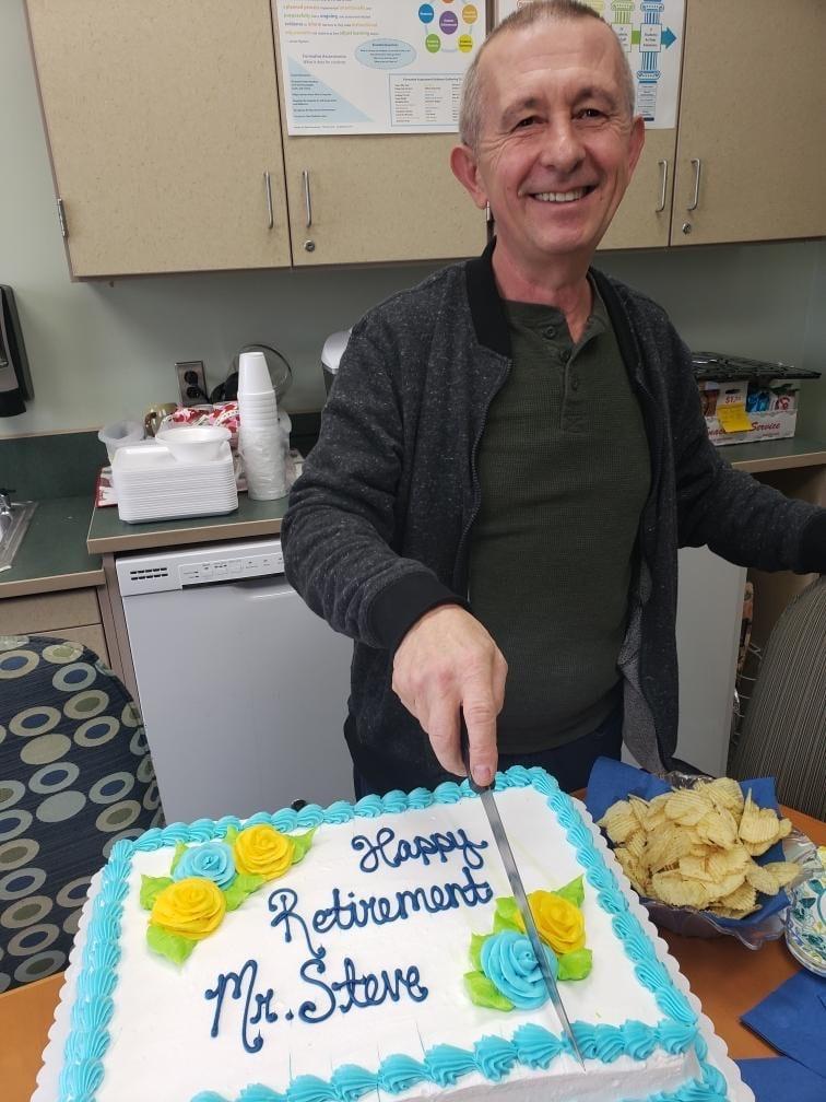 Happy Retirement Mr. Steve
