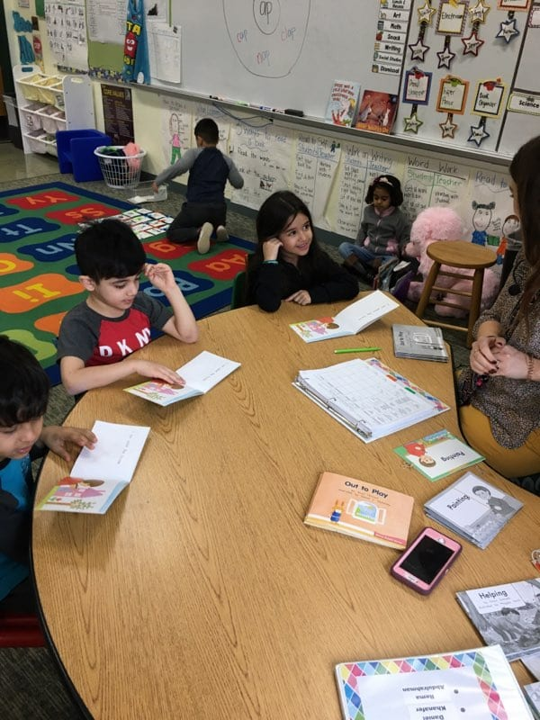 Small Group Instruction in Ms. Svestka's Classroom