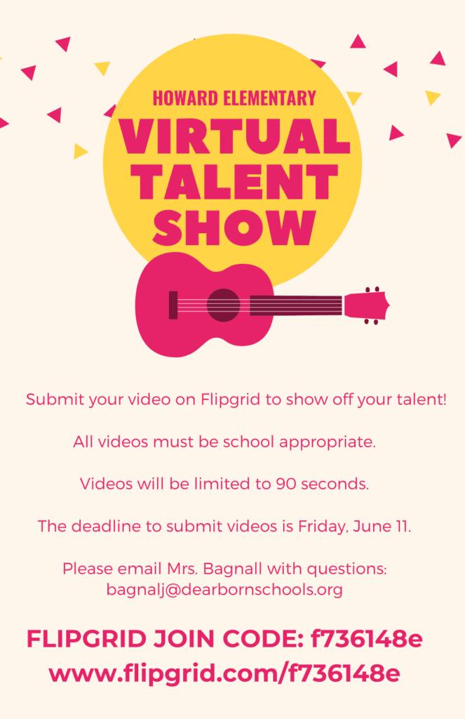Howard Virtual Talent Show