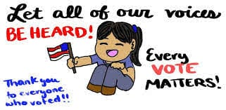 Sarah Khan | Thank you for voting | The Daily Pennsylvanian