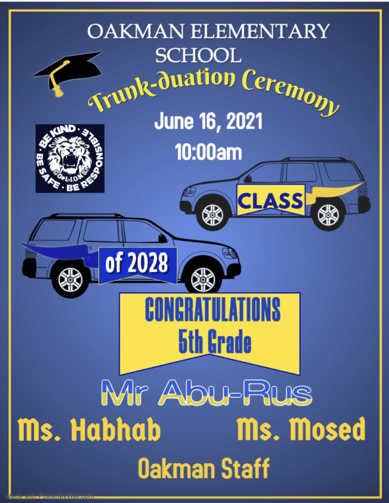 5th Grade Promotion Ceremony