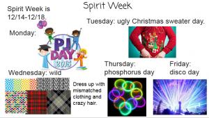 Spirit Week is Next Week