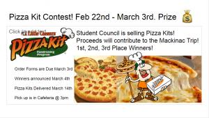 Pizza Kit Fundraiser