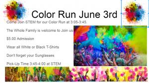 Color Run Information