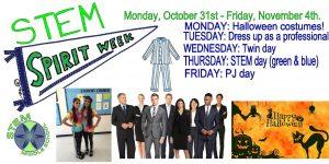 Spirit Week is Next Week!