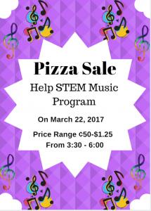 Pizza Sale Tomorrow Night!