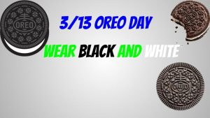 Tuesday is Oreo Day