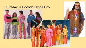 Thursday is Decade Dress Day