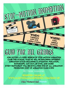 Stop-Motion Animation Club