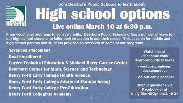 High School Options