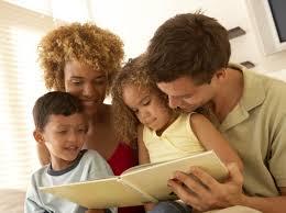 Set aside family reading time