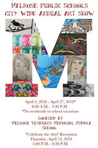 Dearborn Schools City-wide Student Art Show Runs 'til May 29