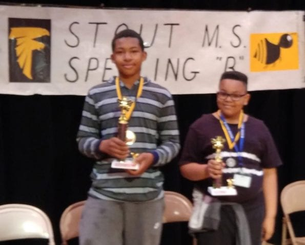 2017-2018 Spelling Bee Champion is here