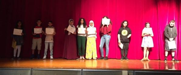 6th Grade Presidential Award Winners