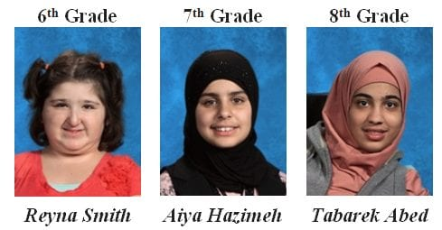 More November Students of the month