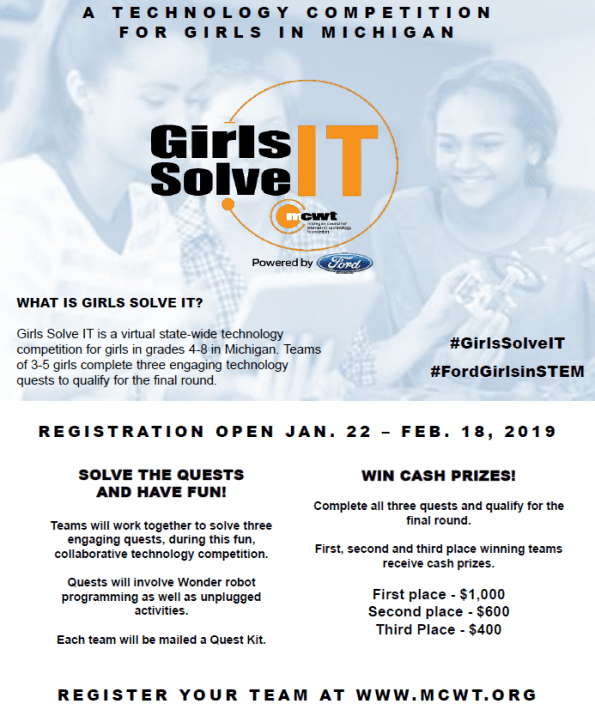 Girls Solve it Robotic Competition