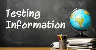 Algebra 1 guidelines and testing information