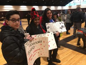 #students1stDbnSchs #theRealDearborn: The Real Dearborn Student led Peace March on January 15 MLK jr. Day was a huge success. It gets better every year.