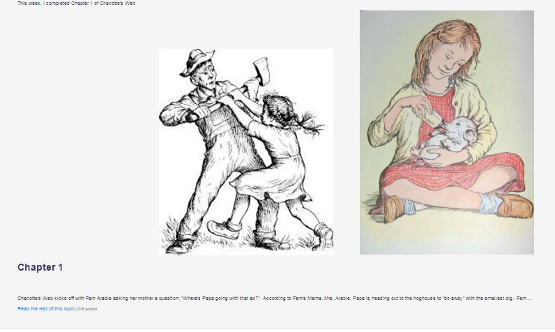 screenshot of booksnap in iLearn