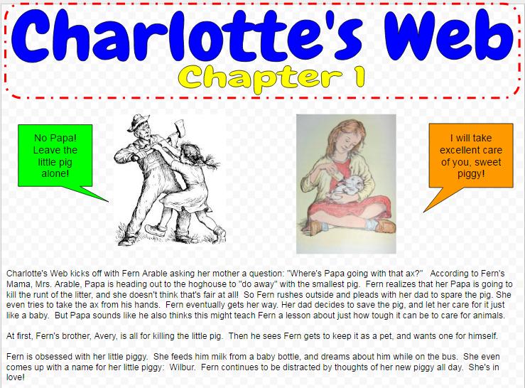 screenshot of booksnap in google drawings